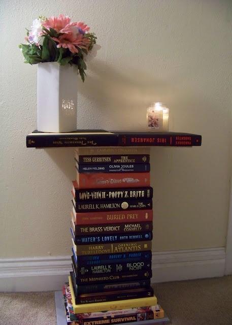 Déco avec des livres