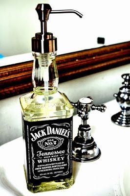 riciclo bottiglie jack daniels 1