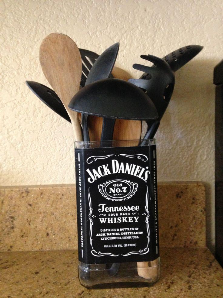 Récupérer les bouteilles de Jack Daniels