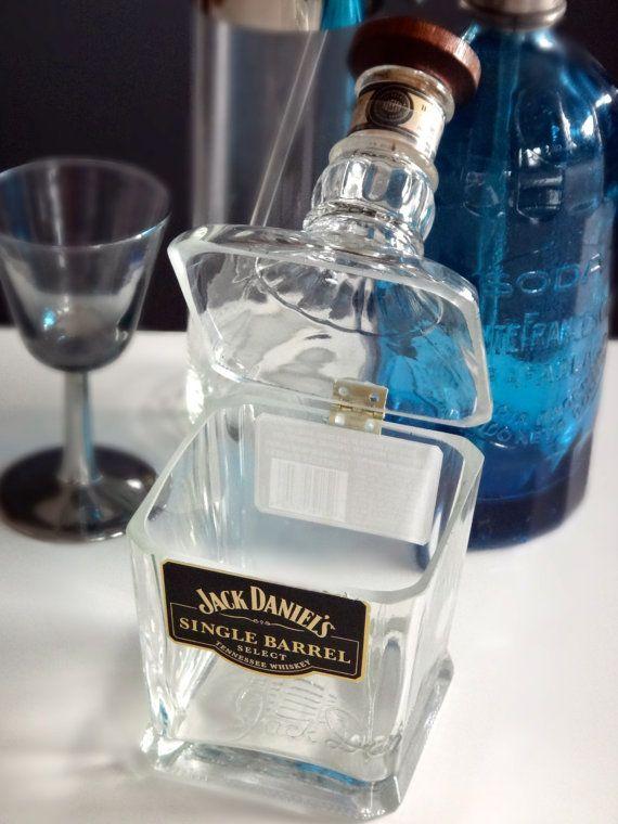riciclo bottiglie jack daniels 5