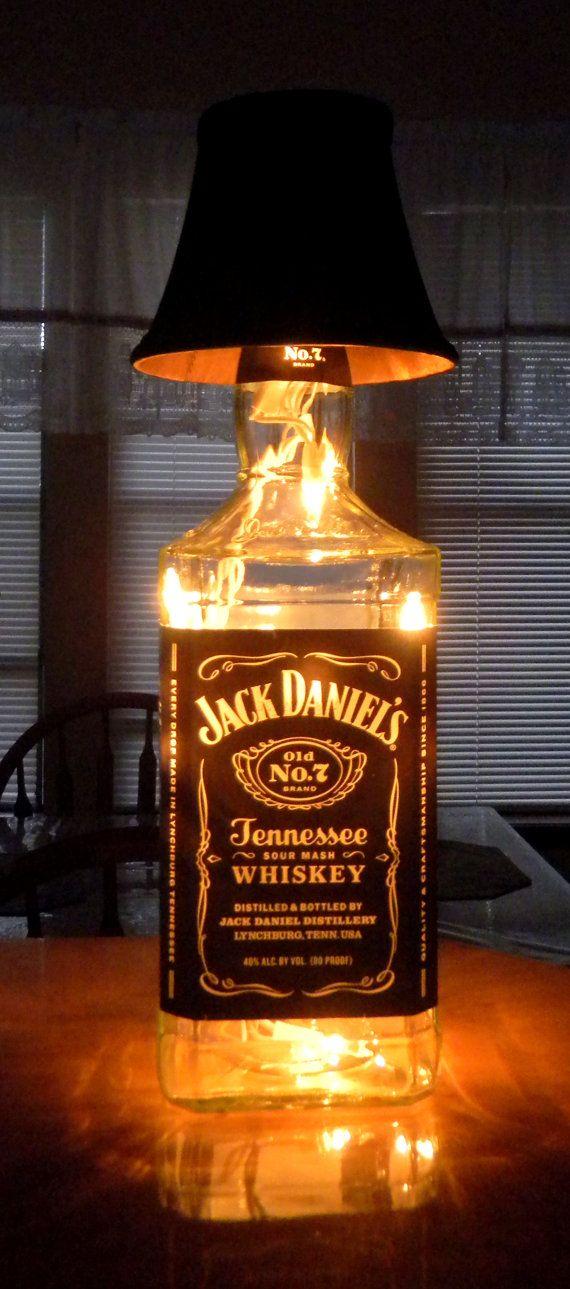 riciclo bottiglie jack daniels 7