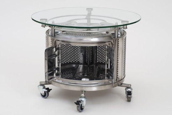 Une Table Basse Avec Des Matériaux De Récup! 20 Idées