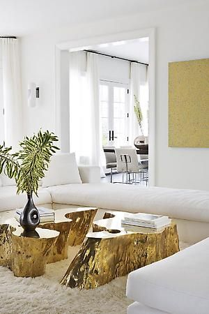 tavolo tronco fai da te 4 - Table Basse Tronc D Arbre