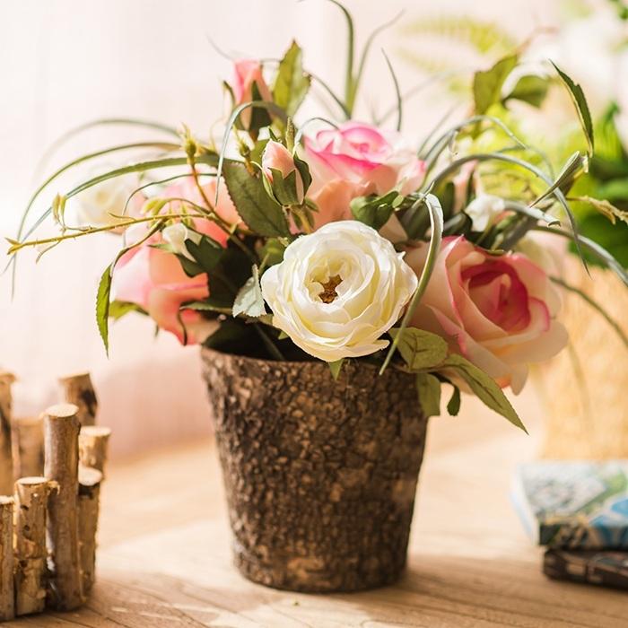 tronco con fiori 10