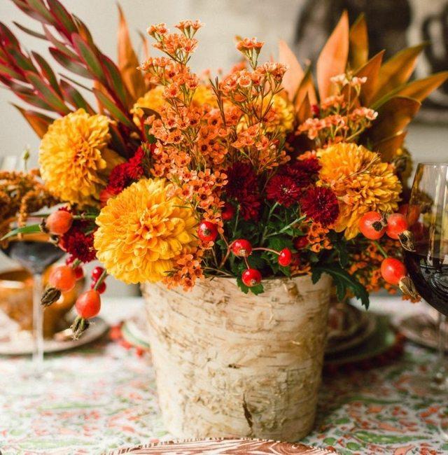 tronco con fiori 11