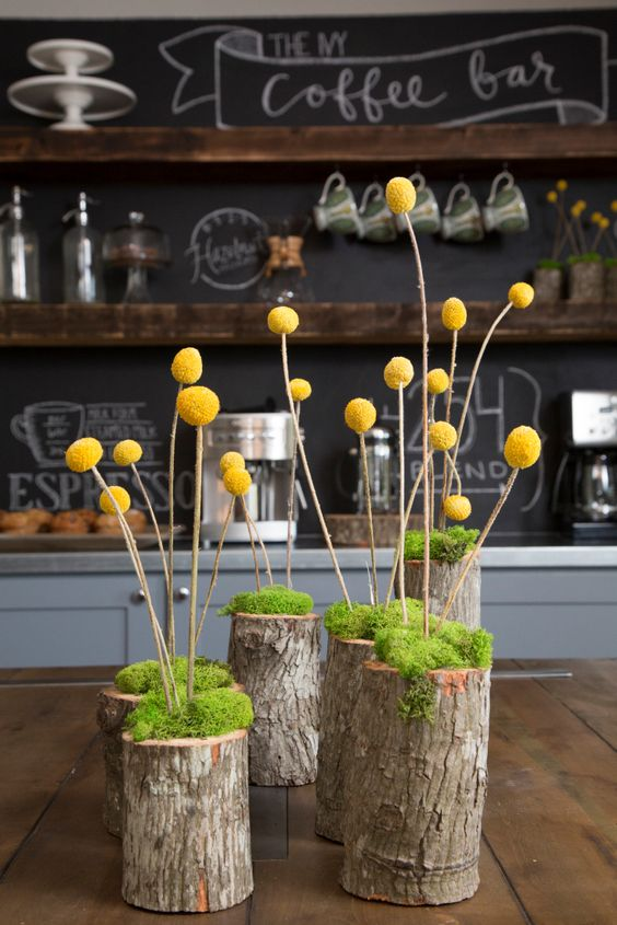 tronco con fiori 12