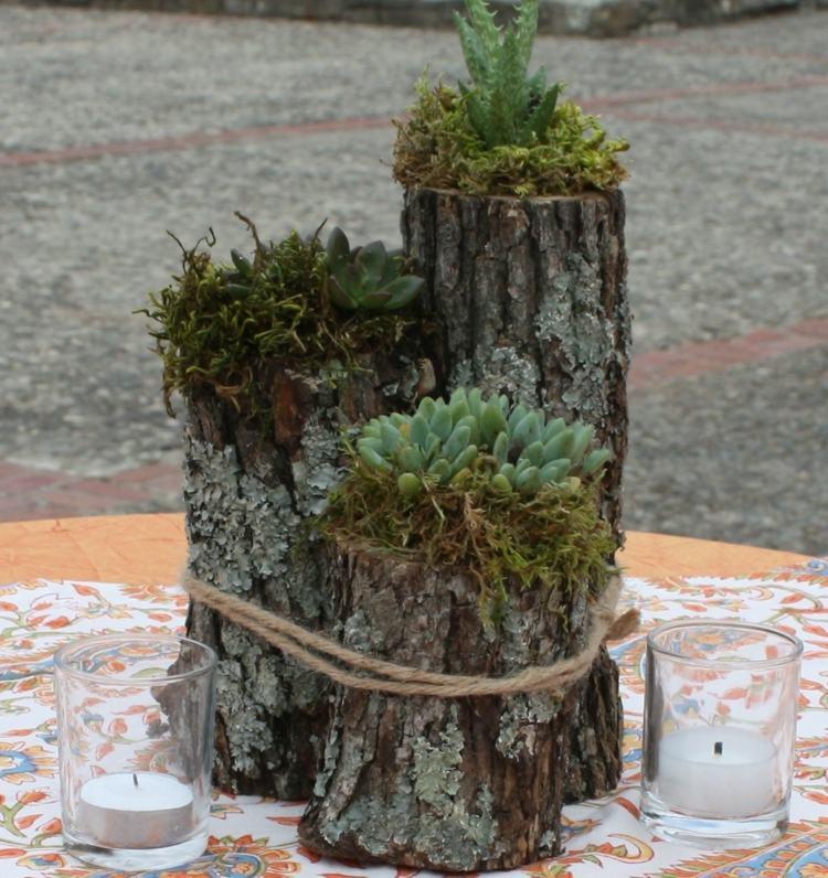 tronco con fiori 9