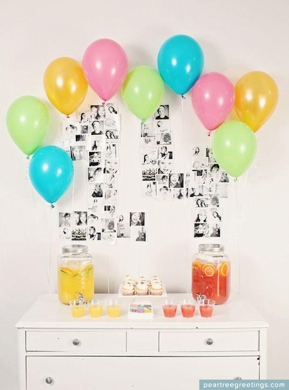 Décorer avec des ballons pour un anniversaire