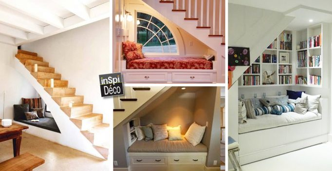 amnagement bureau sous escalier awesome installer un bureau sous luescalier cuest une surface. Black Bedroom Furniture Sets. Home Design Ideas