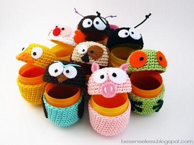 Вязание поделки игрушки