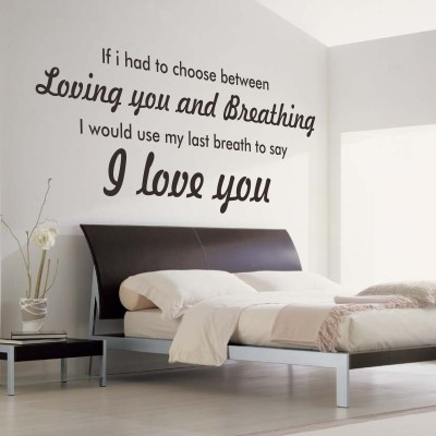 scritte decorative camera da letto 6