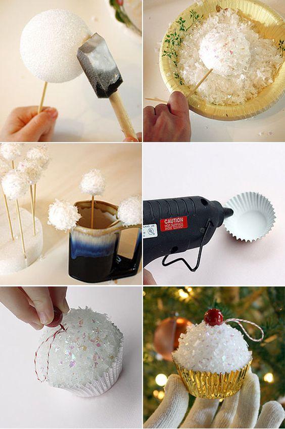 Déco De Noel DIY Pour Le Sapin Idées Tutoriel - Diy deco cuisine pour idees de deco de cuisine