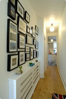 How to decorate a hallway! Here are 20 ideas to inspire you...