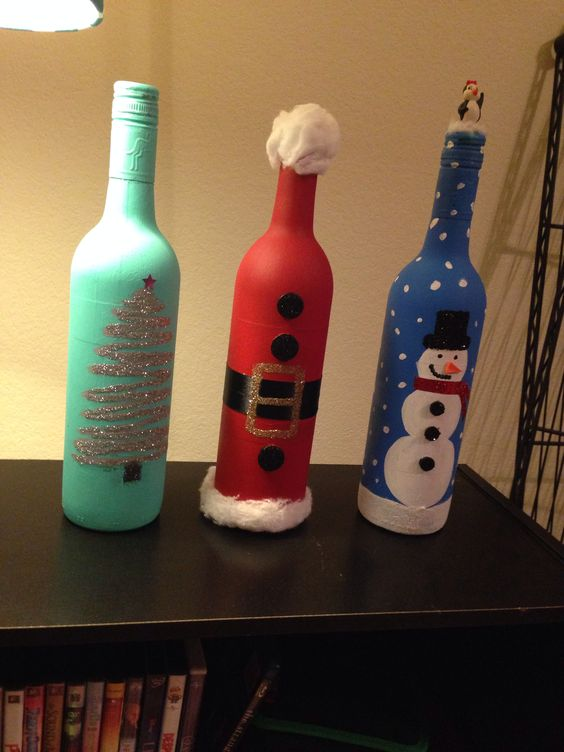 decorations christmas bottles 11