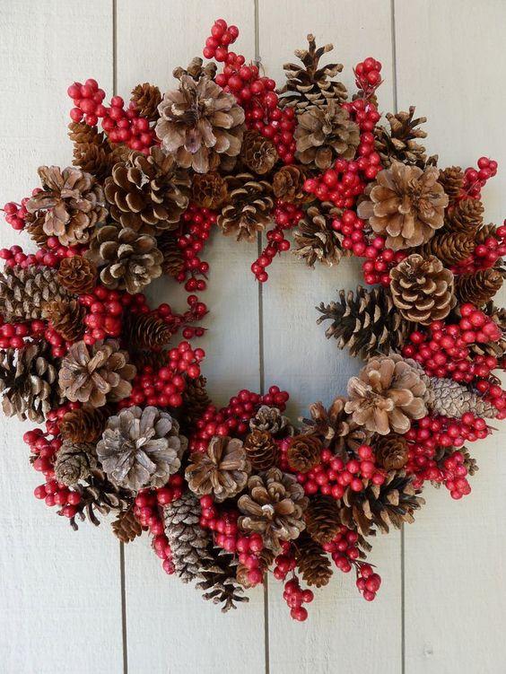 Superieur Decorazioni Pigne Natale 14
