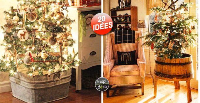 Decorer La Base Du Sapin De Noel Voici 20 Idees Creatives