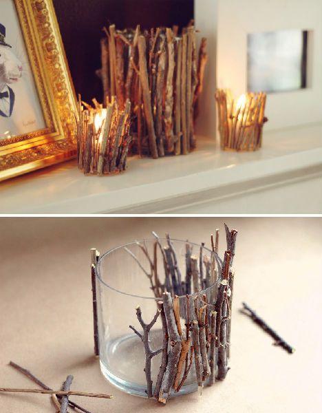 Créations originales avec branches et brindilles