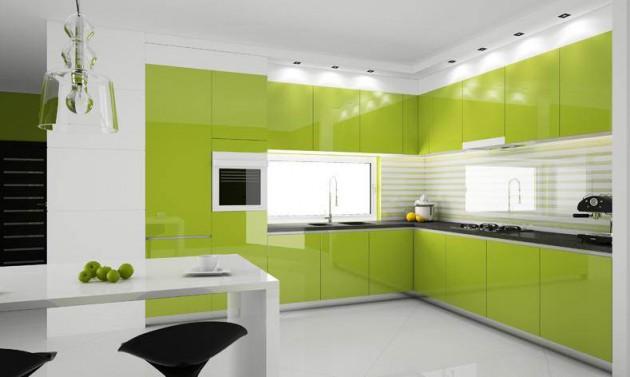 Marier le vert dans la cuisine