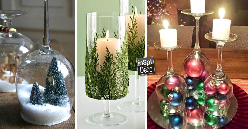 Bougeoir De Noel Réaliser un Bougeoir de Noel avec un verre! 20 exemples magnifiques