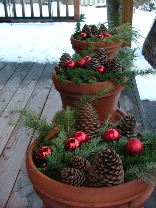 Idee Decoration De Noel Exterieur