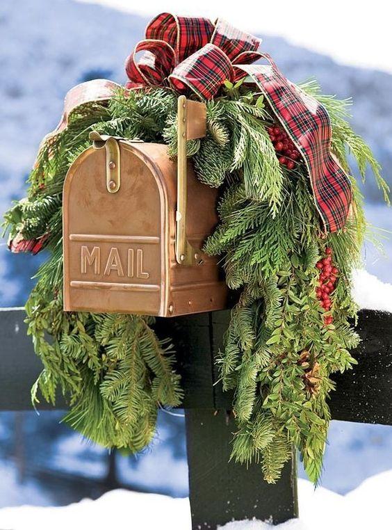 decorazioni esterne per Natale