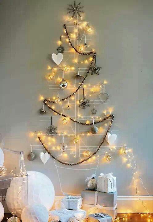 Un arbre en lumière pour Noel