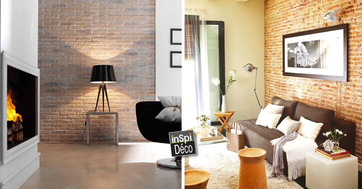 d corer son int rieur avec des briques rouges 20 id es pour vous inspirer. Black Bedroom Furniture Sets. Home Design Ideas