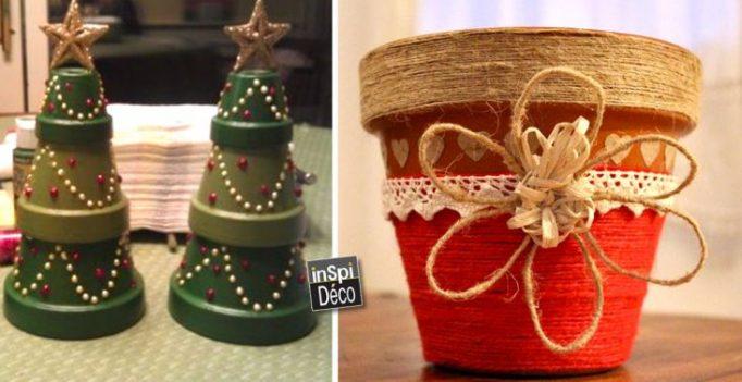 Decoration De Noel Facile A Faire En Terre Cuite