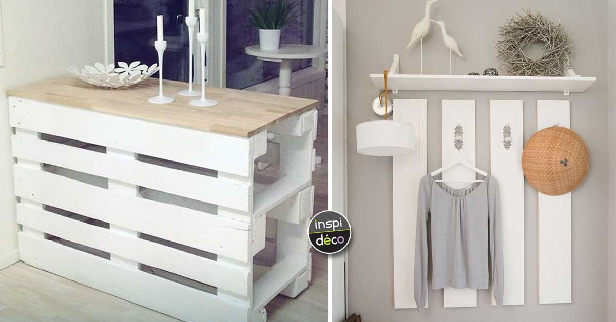 cr ations originales en bois de palettes 20 id es tutoriels. Black Bedroom Furniture Sets. Home Design Ideas