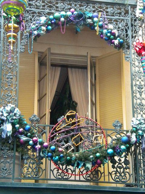 decorazione balcone natale 15