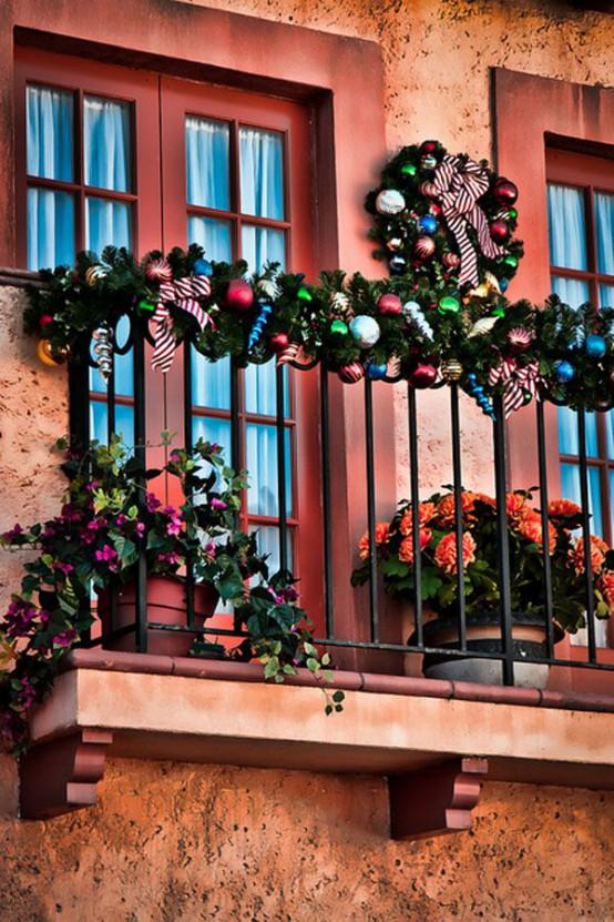 decorazione balcone natale 3