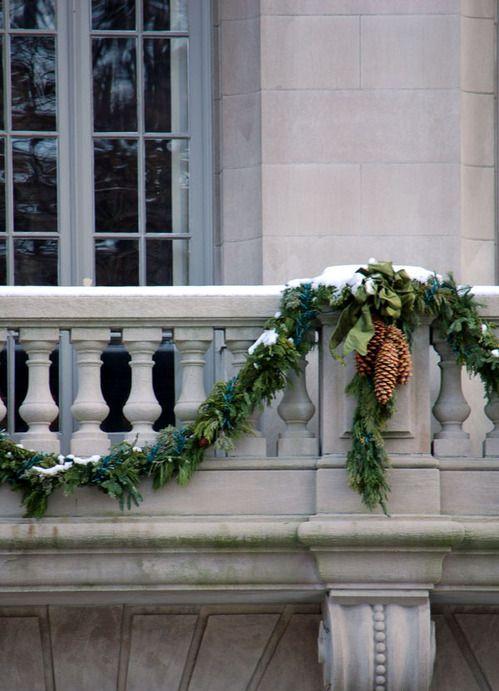 decorazione balcone natale 4