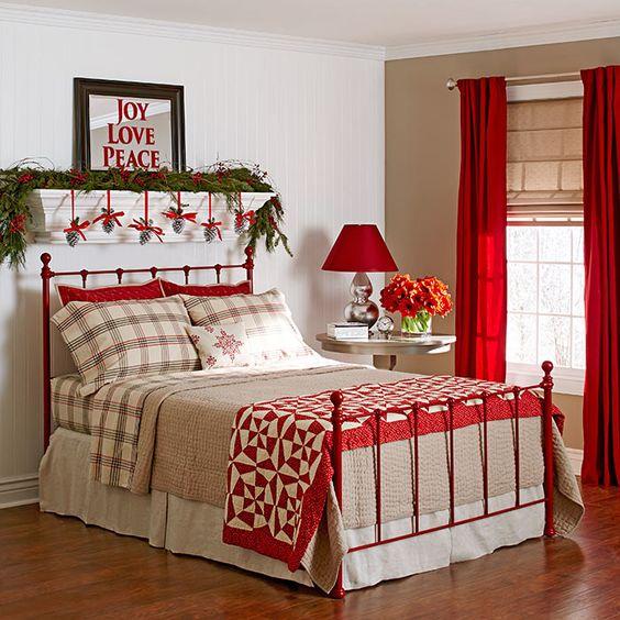 decorazione-natalizie-letto-6