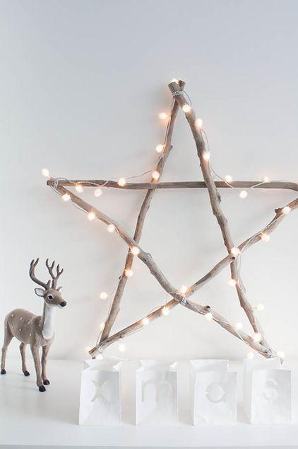 déco de Noel en bois