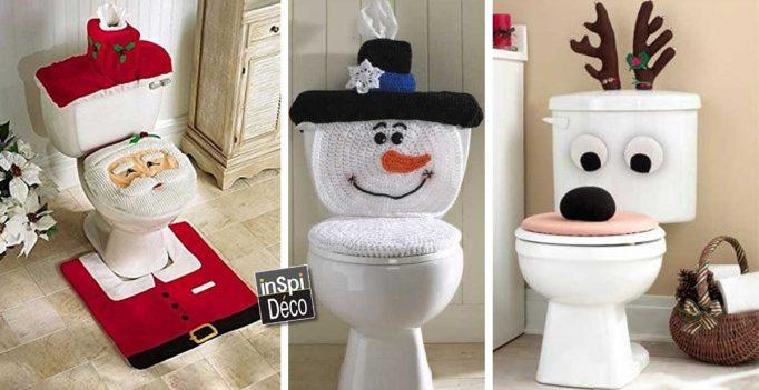 Décorer les toilettes à Noel! 13 idées très sympa pour vous inspirer...