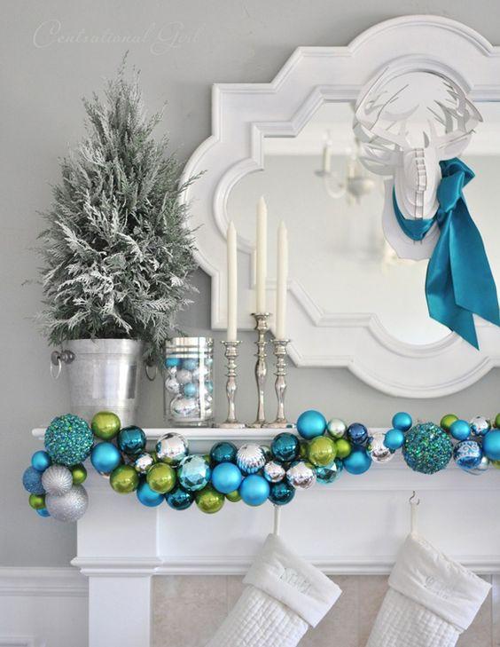 un Noel en turquoise