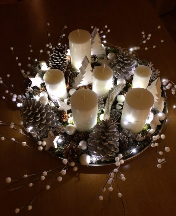 Magnifiques Centres Table Pour Noel! 20 Idées Pour Vous Inspirer