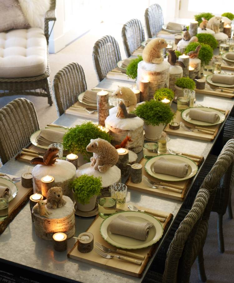 Magnificent Centres Table For Christmas! 20 Ideas To Inspire You