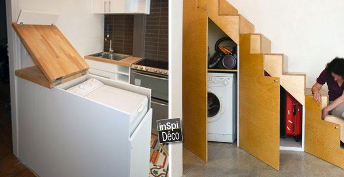 Placer la machine laver de fa on originale dans votre for Interieur machine a laver