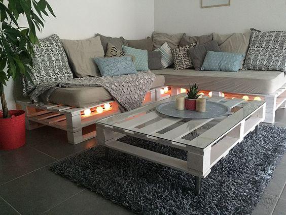 tavolini con bancali