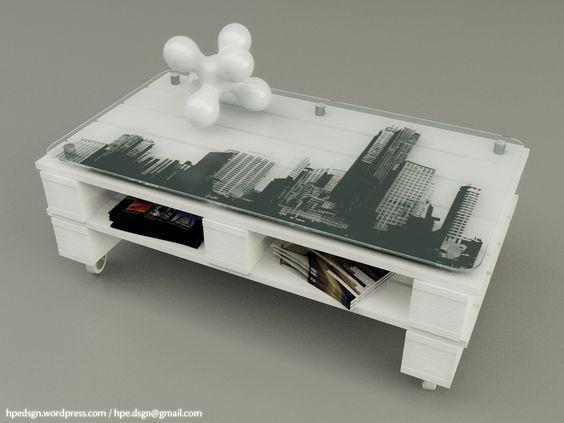 tables basses en bois de palettes
