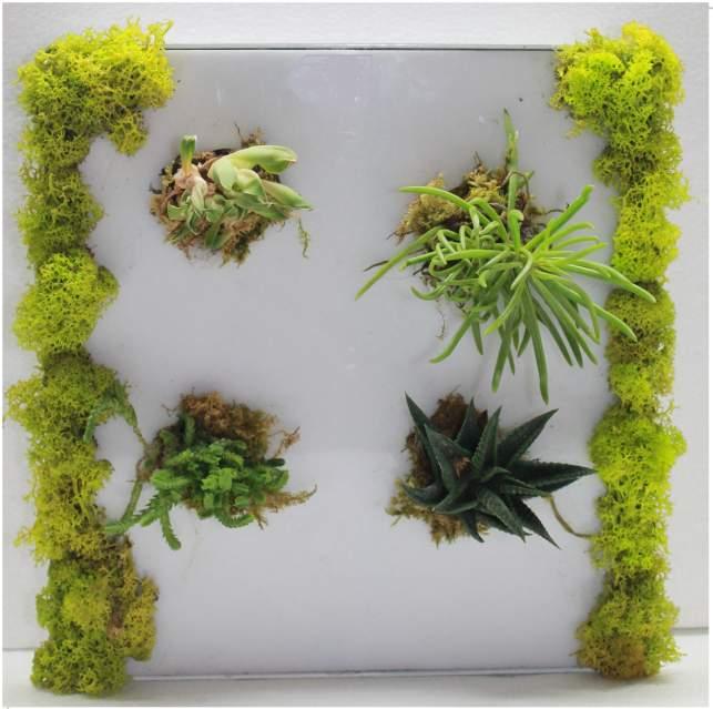 Conice creativa con fiori 9