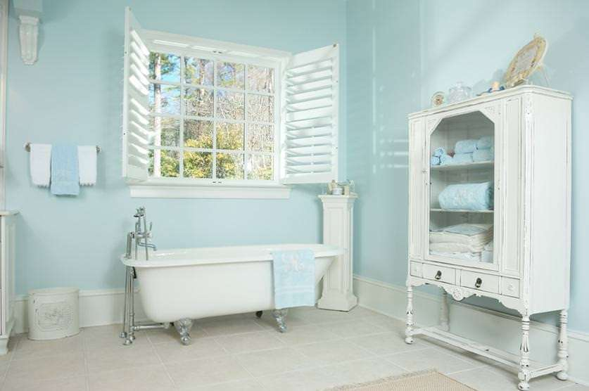Style shabby chic in blue ideas to inspire you