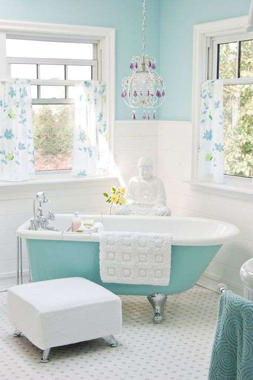 Style Shabby Chic in blue! 20 ideas to inspire you...