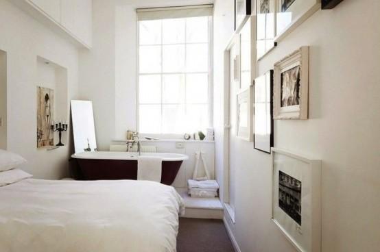 Vasca Da Bagno In Camera Da Letto : Vasca da bagno nella camera da letto esempi belli