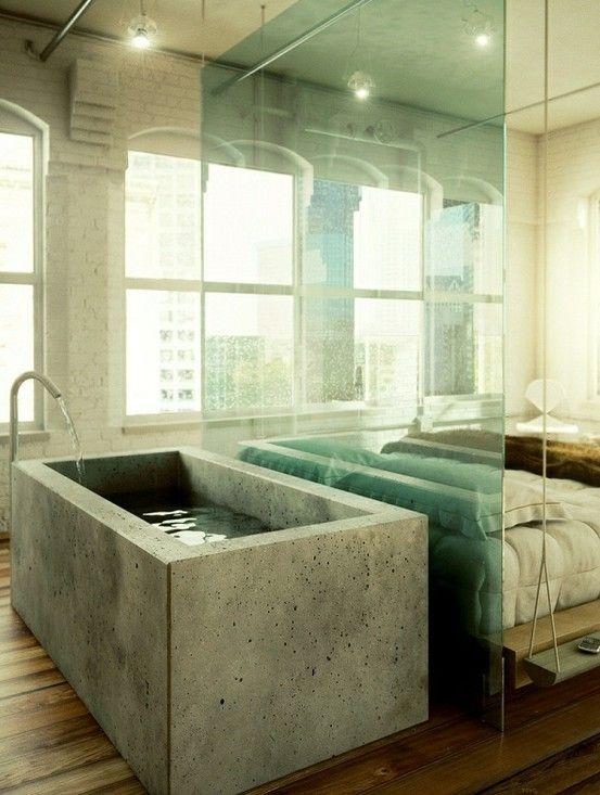 camere da letto con vasca