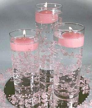 candele in acqua 11