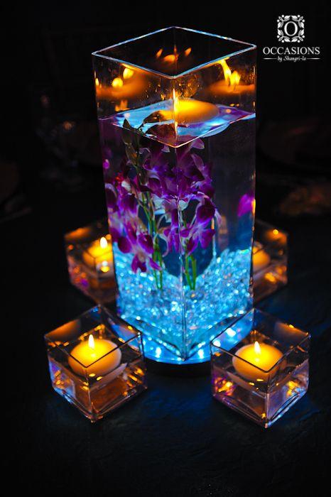 candele in acqua 18