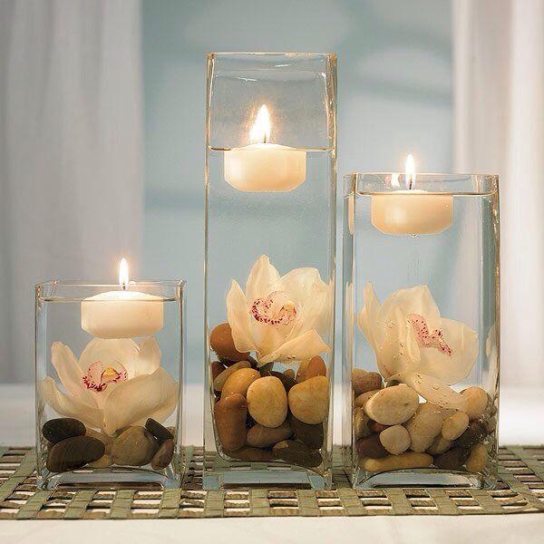 candele in acqua 5