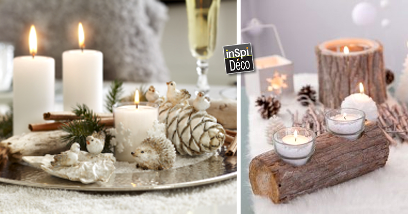 Decoration noel fait main pour table - Decor de table pour noel a faire soi meme ...